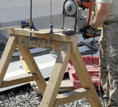 circular saw bench