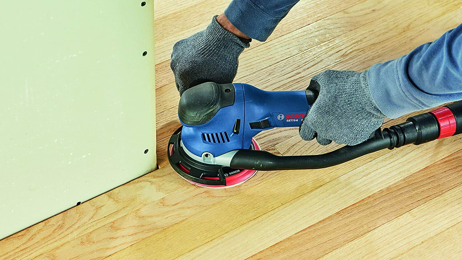 bosch 5 orbital sander auxiliary handle for great control and accuracy