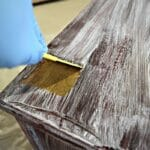 how to sand paint off wood