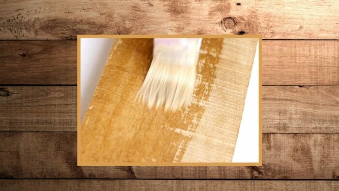 how to remove water stains from wood using a bleach solution